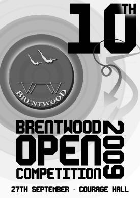 Brentwood Open 2009 Programme Cover