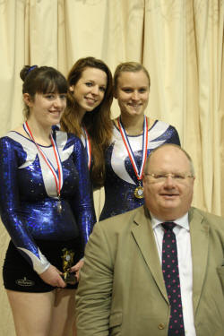 Eric Pickles with O15 E team