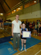 Georgie getting Jack Petchey from Vanessa