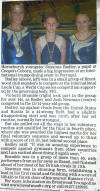 Romford Recorder article 21st September 2012